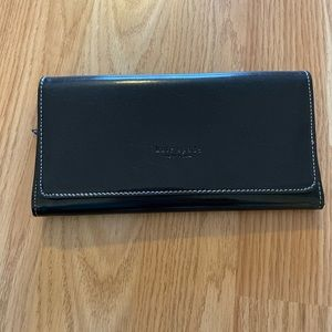 Black Kate Spade Patent Leather Wallet